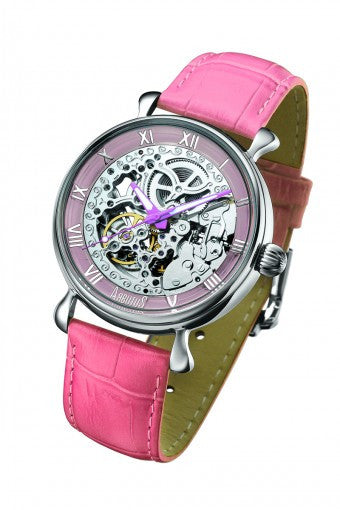 Arbutus Skeleton Automatic AR805SPP Watch (New with Tags)