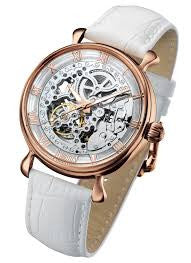 Arbutus Skeleton AR805RWW Watch (New with Tags)