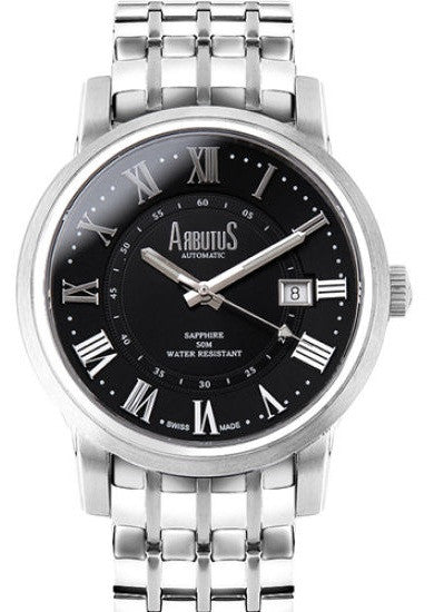 Arbutus Swiss AS12303-SBS Watch (New with Tags)