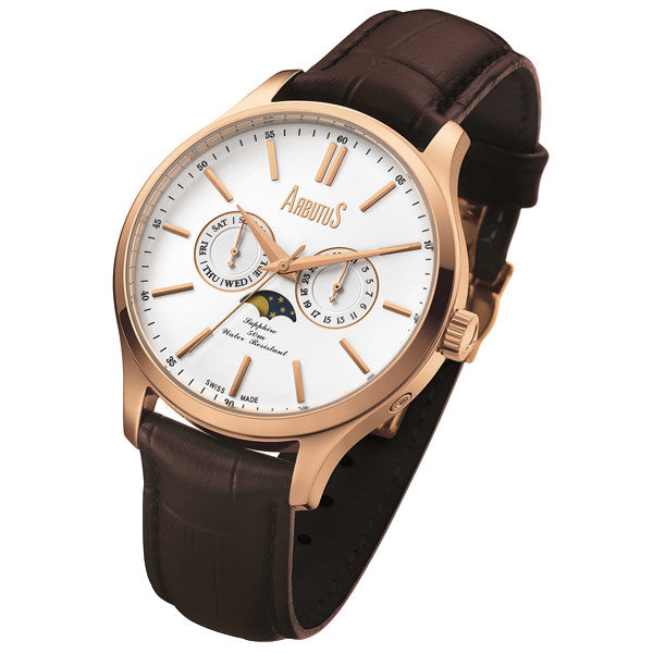 Arbutus Swiss AS14106-RWF Watch (New with Tags)