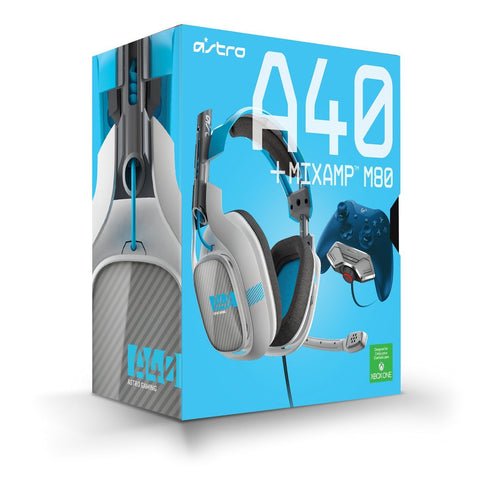 Astro A40 Gaming MixAmp M80 for XB1 (Light Grey/Blue)