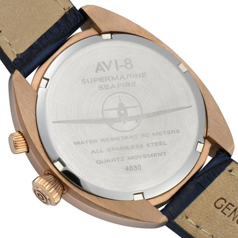 AVI-8 Supermarine Seafire AV-4030-04 Watch (New with Tags)