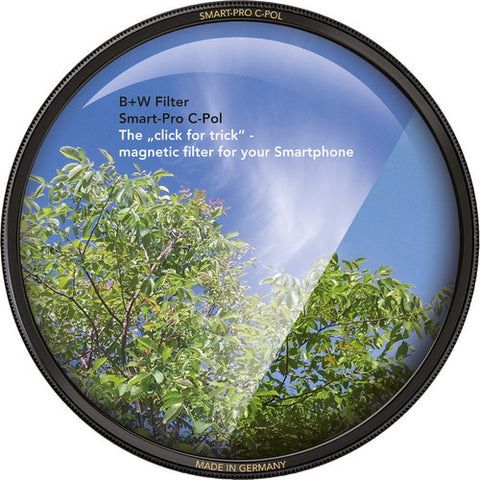 B+W Smart-Pro Circular Polarizer for Smartphones (1075127) Filter