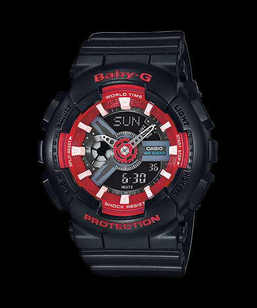 Casio Baby-G Analog-Digital BA-110SN-1A Watch (New with Tags)