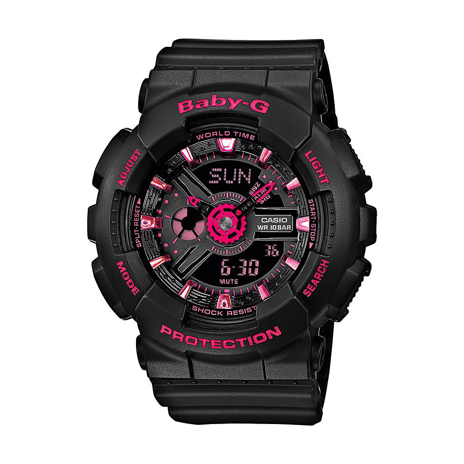 Casio Baby-G Analog-Digital BA-111-1A Watch (New with Tags)
