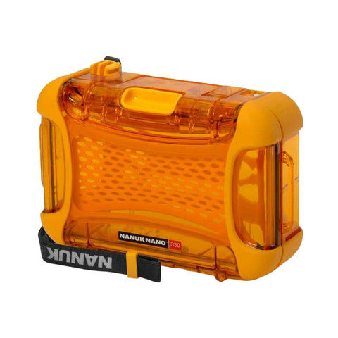 Nanuk Nano 330-0003 Protective Hard Case (Orange)