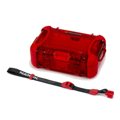 Nanuk Nano 330-0009 Protective Hard Case (Red)