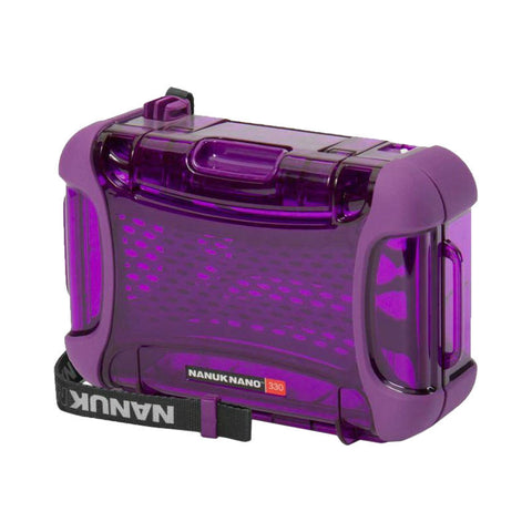 Nanuk Nano 330-0013 Protective Hard Case (Purple)