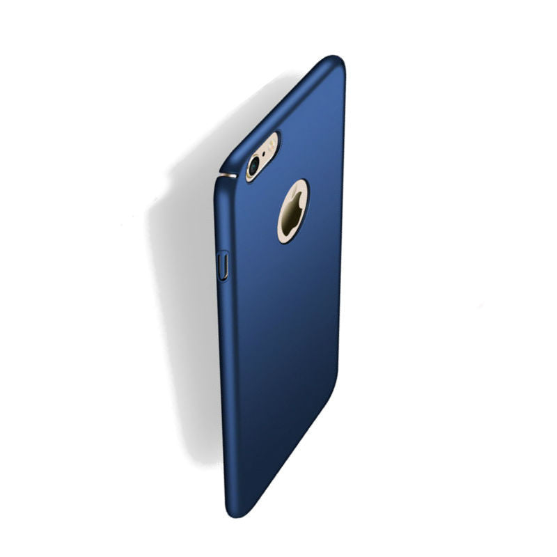 Hard Shell Drop Resistance Case for iPhone 6 Plus/6S Plus (Deep Blue)