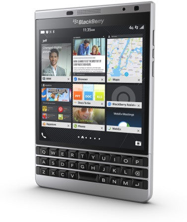 Blackberry Passport 32GB 4G LTE Silver Unlocked