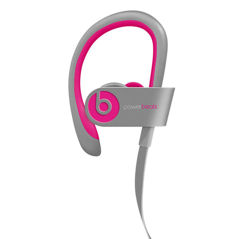 Powerbeats 2 Wireless by Dr. Dre Pink Gray In-Ear Headphone