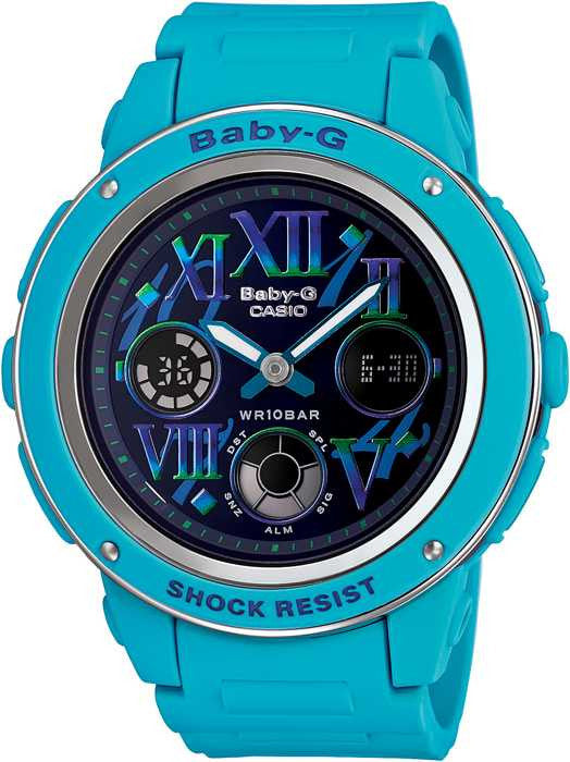 Casio Baby-G BGA-150GR-2B Watch (New with Tags)