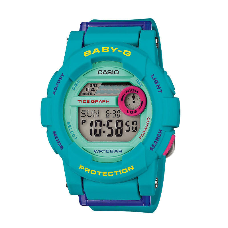 Casio Baby-G Standard Digital BGD-180FB-2 Watch (New with Tags)