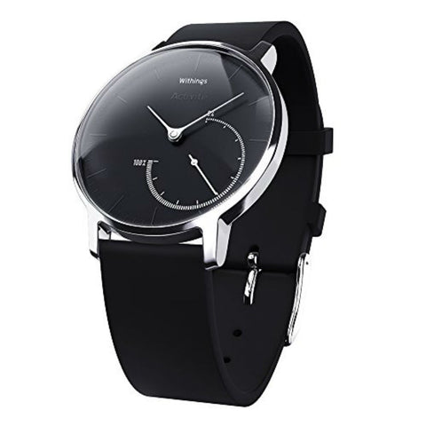 Withings Activite Steel Tracker Watch (Black)