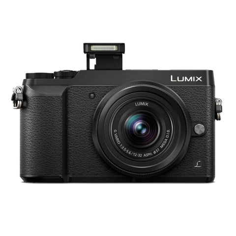 Panasonic Lumix DMC-GX85K with 12-32mm Lens Black Digital Camera