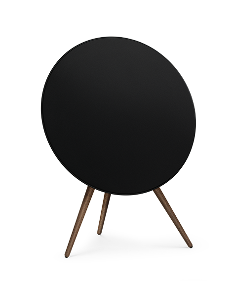 Bang & Olufsen Beoplay A9 with Walnut Legs Speaker System (Black)