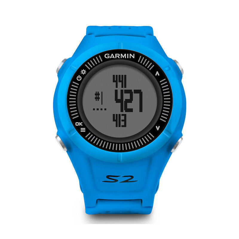 Garmin Approach S2 010-01139-07 Golf Watch (Blue/Black)