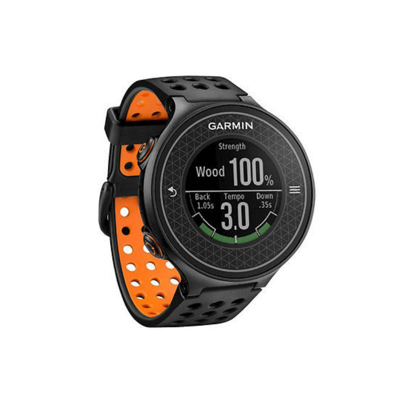 Garmin Approach S6 010-01195-02 Golf Watch (Black/Orange)