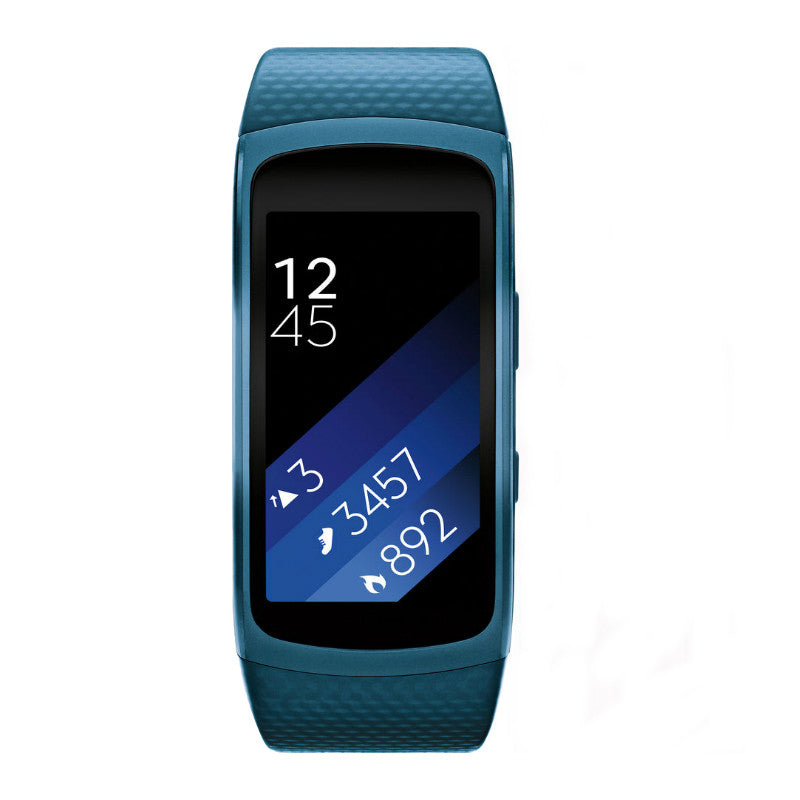 Samsung Gear Fit 2 SM-R360 Large Size Sports Watch (Blue)