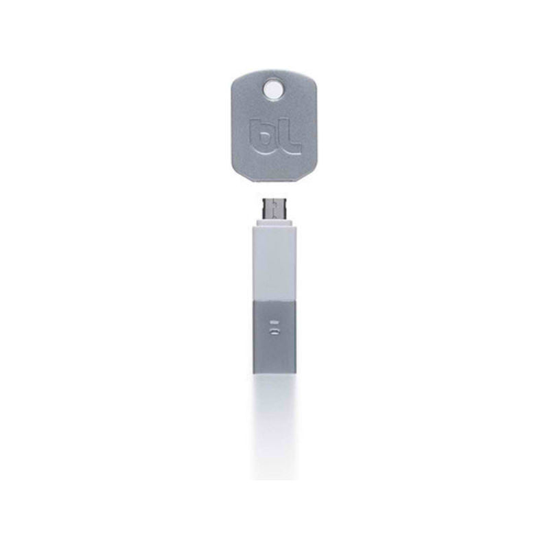 BlueLounge KI-MC-WH Kill Micro USB Key Chain (White)