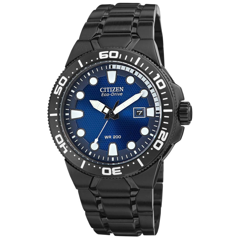 Citizen Eco-Drive Professional Scuba Fin Iso Cert. Divers BN0095-59L Watch (New with Tags)