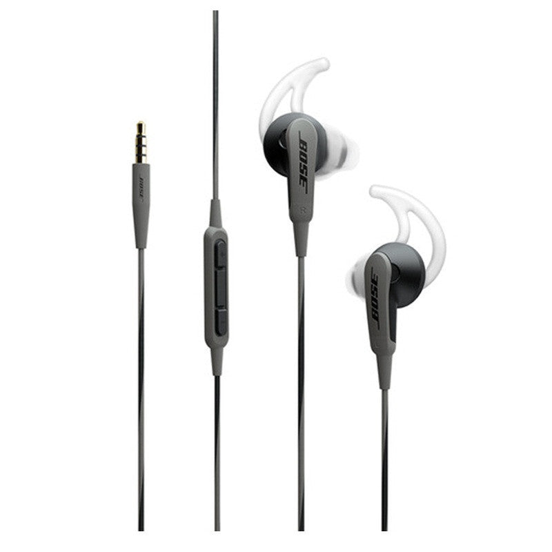 Bose SoundSport In-Ear Headphones for Samsung (Charcoal Black)