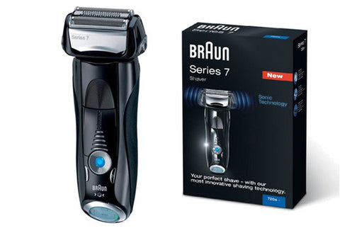 Braun 720s-6 Series 7 Electric Rechargeable Foil Shaver