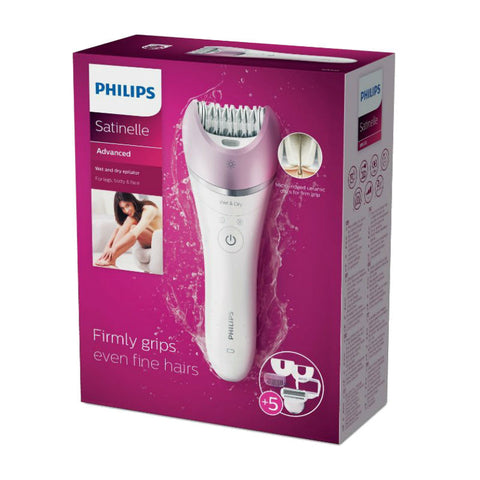Philips Satinelle Advanced BRE630 Wet and Dry Epilator