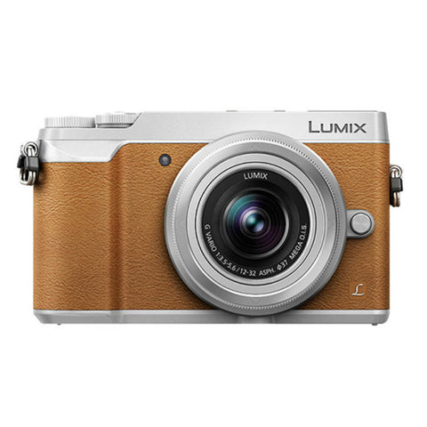 Panasonic Lumix DMC-GX85 with 12-32mm Lens Brown Digital Camera