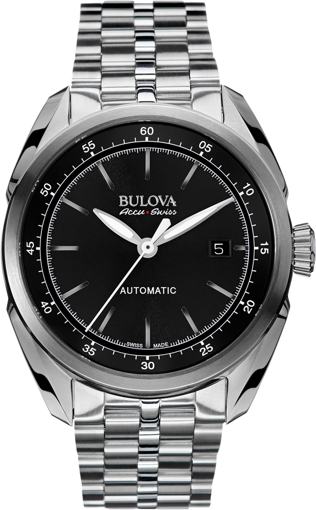 Bulova AccuSwiss Tellaro Automatic 63B193 Watch (New with Tags)