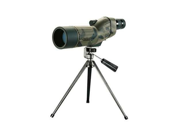 Bushnell Sentry 18-36 x 50mm Multi-Coated Black Spotting Scopes with Tripod and Hard Case 781836