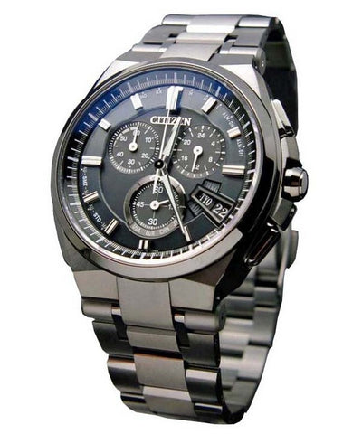 Citizen Attesa Eco-Drive Solar BY0044-77E Watch (New with Tags)