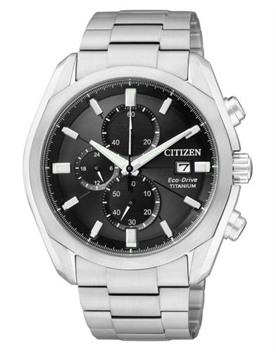 Citizen Eco-Drive Chronograph CA0021-53E Watch (New with Tags)