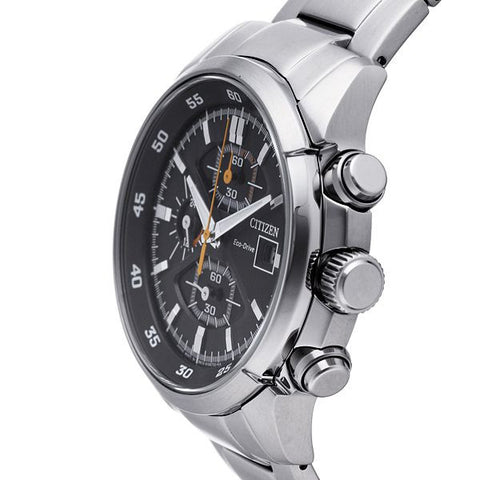 Citizen Eco-Drive Chronograph Sports CA0130-58E Watch (New with Tags)