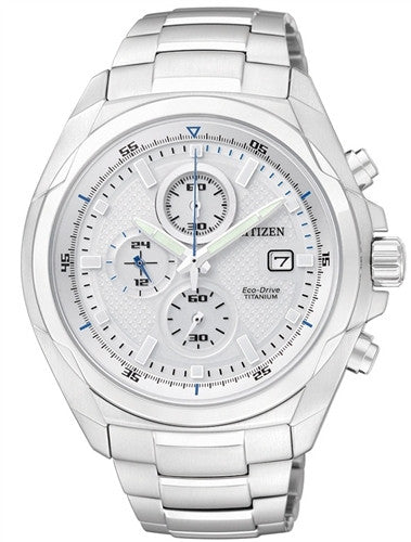 Citizen Eco-Drive Chronograph CA0190-56B Watch (New with Tags)