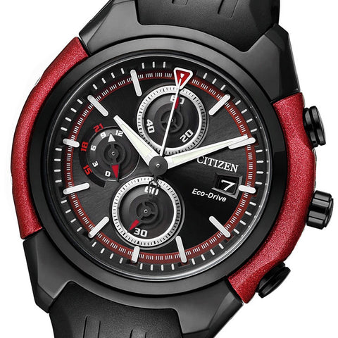 Citizen Eco-Drive Chronograph CA0287-05E Watch (New with Tags)