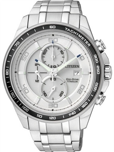 Citizen Eco-Drive Chronograph CA0341-52A Watch (New with Tags)