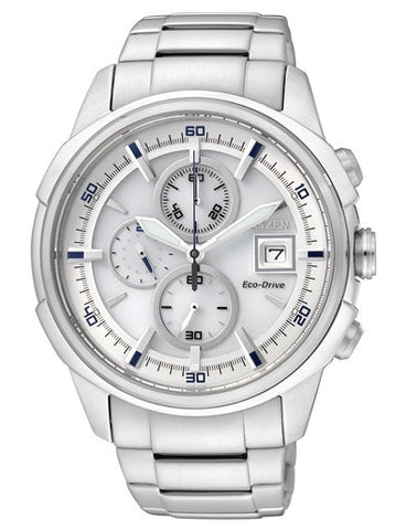 Citizen Eco-Drive Chronograph CA0370-54A Watch (New with Tags)