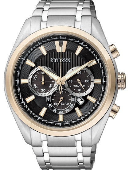 Citizen Eco-Drive Chronograph CA4015-54E (CA4014-57E) Watch (New with Tags)