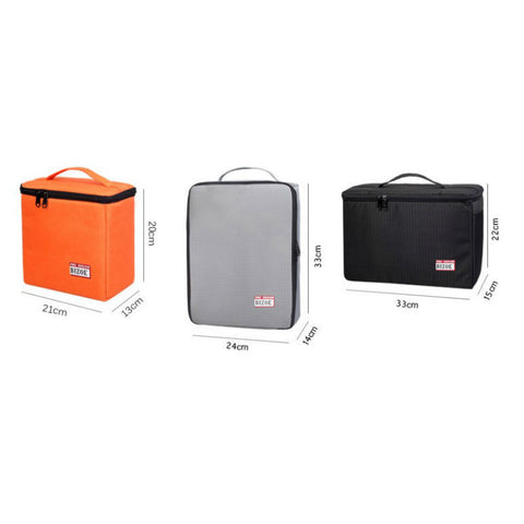 Camera Bag Cross-Section Large for Canon 700D 5D3 60D 70D (Orange)