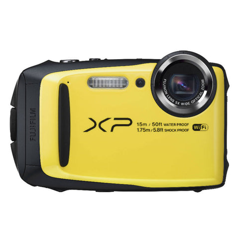 Fujifilm FinePix XP90 Yellow Digital Camera