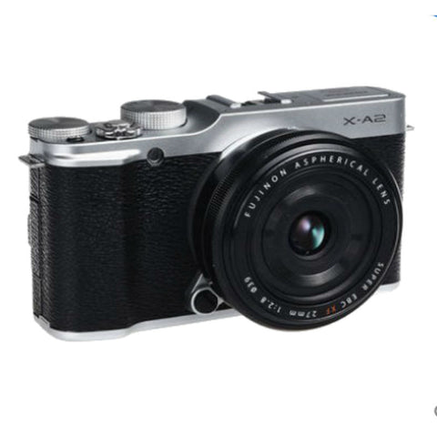 Fujifilm X-A2 Mirrorless Camera with 27mm f/2.8 Lens
