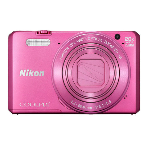 Nikon Coolpix S7000 Pink Digital Camera
