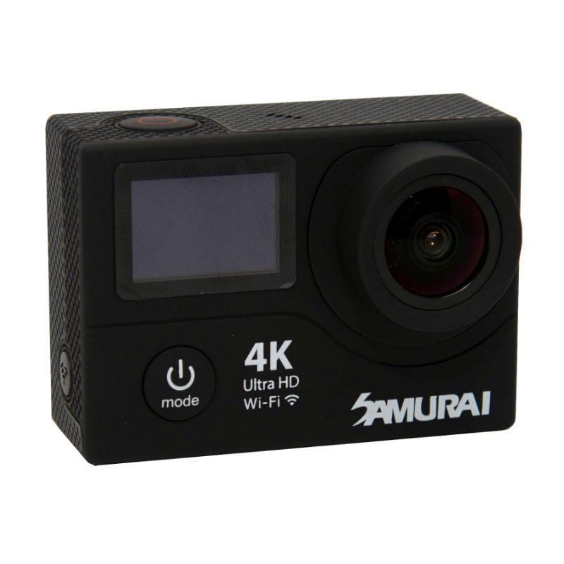 Samurai Ninja Pro Black 4K Action Camera