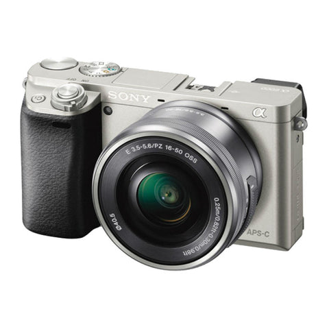 Sony Alpha A6000 ILCE-6000 Silver Digital Camera (Body Only)