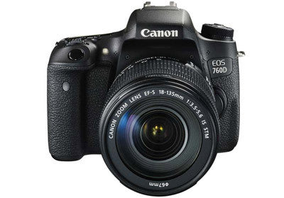 Canon EOS 760D with EF-S 18-135mm f/3.5-5.6 IS Lens Black Digital SLR Camera