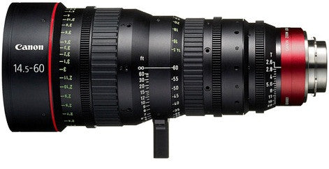 Canon CN-E 14.5-60mm T2.6 L SP Cinema Zoom Lens (PL Mount)