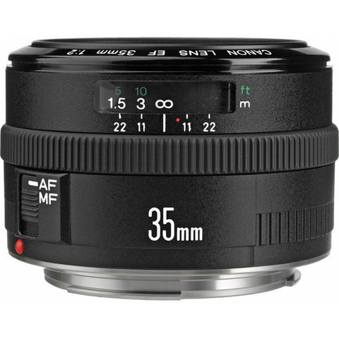 Canon EF 35mm f2.0 IS USM Lens