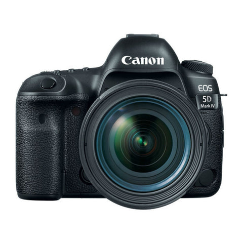 Canon EOS 5D Mark IV with EF 24-70mm f/4L IS USM Lens Black Digital SLR Camera