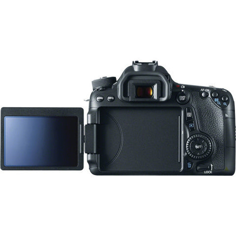 Canon EOS 70D Kit with 18-55mm STM Black Digital SLR Camera
